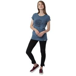 tentree New Path T-Shirt - Womens-Blue Mirage