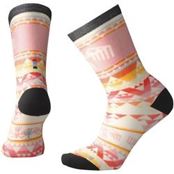 Bird Geo Print Crew Socks - Womens