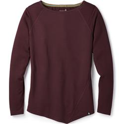 Smartwool Everyday Exploration LS Tee - Womens-Fig Heather