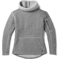 Smartwool Hudson Trail Pullover Fleece Sweater - Womens-Light Gray