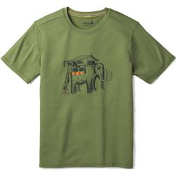 Smartwool Merino 150 Mobile Mammoth Tee - Mens-Light Loden