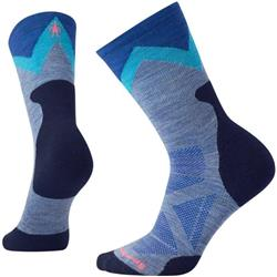 Smartwool PhD Pro Approach Light Elite Crew Socks - Womens-Blue Steel
