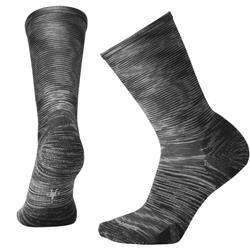 Smartwool Rayleigh Crew Socks - Womens-Black Space Dye