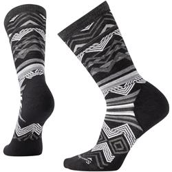 Smartwool Ripple Creek Crew Socks - Womens-Black