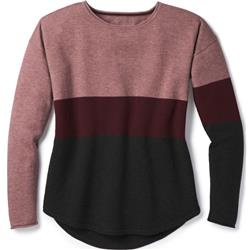 Smartwool Shadow Pine Crew Sweater - Womens-Nostalgia Rose Heather