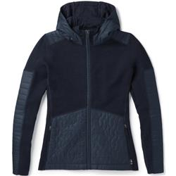 Smartwool Ski Ninja Full Zip Sweater - Womens-Deep Navy Heather