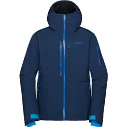Norrona Lofoten GTX Insulated Jacket - Mens-Indigo Night