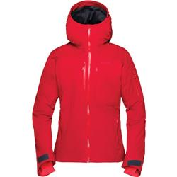 Norrona Lofoten GTX Insulated Jacket - Womens-Jester Red