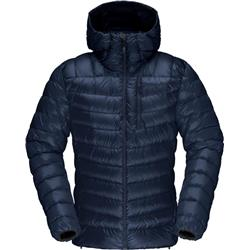 Norrona Lyngen Down850 Hood Jacket - Mens-Indigo Night