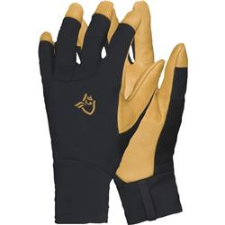 Norrona Lyngen Windstopper Leather Gloves-Caviar