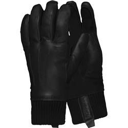 Norrona Roldal Dri Insulated Leather Gloves-Caviar