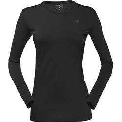 Norrona Wool Round Neck - Womens-Caviar