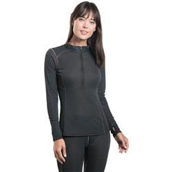 Kuhl Akkomplice Zip Neck - Womens-Carbon