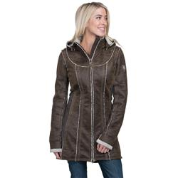 Kuhl Dani Sherpa Trench - Womens-Oak