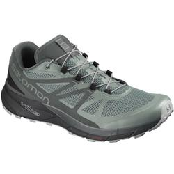 Salomon Sense Ride GTX Invisible Fit - Mens-Balsam Green / Urban Chic / Monument
