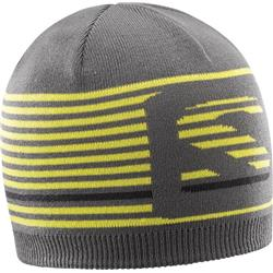 Salomon Flatspin Short Beanie-Forged Iron / Sulphur Spring