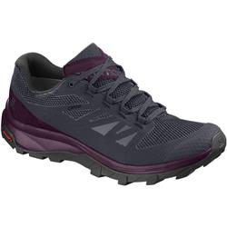 Salomon Outline GTX - Womens-Graphite / Potent Purple / Potent Purple