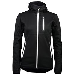 Mons Royale Approach Tech Mid Hoody - Womens-Black