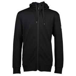 Mons Royale Covert Mid-Hit Hoody - Mens-Black