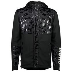 Mons Royale Decade Tech Mid Hoody - Mens-Black