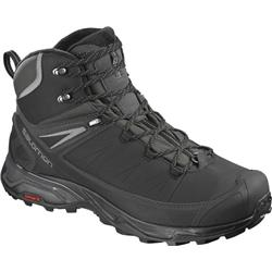 Salomon X Ultra Mid Winter CS WP - Mens-Black / Phantom / Quiet Shade