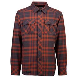 Mons Royale Mountain Shirt - Mens-Clay / 9 Iron