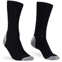 Mons Royale Tech Bike Socks 2.0 - Mens-Black / Grey