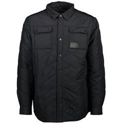 Mons Royale The Keeper Insulated Shirt - Mens-Black