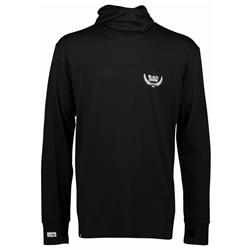 Mons Royale Yotei Powder Hood LS - Mens-Black