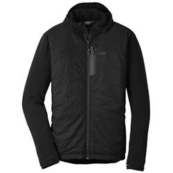Outdoor Research Deviator Hoody - Mens-Black / Charcoal