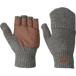 Outdoor Research Lost Coast Fingerless Mitts - Mens-Pewter
