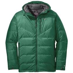 Outdoor Research Floodlight Down Jacket - Mens-Jungle / Charcoal