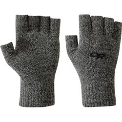 Outdoor Research Fairbanks Fingerless Gloves-Charcoal