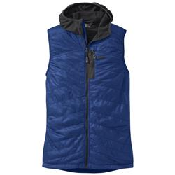 Outdoor Research Deviator Hooded Vest - Mens-Baltic / Charcoal