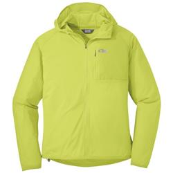 Outdoor Research Tantrum II Hooded Jacket - Mens-Chartreuse