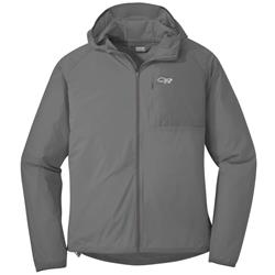 Outdoor Research Tantrum II Hooded Jacket - Mens-Pewter