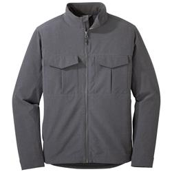 Outdoor Research Prologue Field Jacket - Mens-Charcoal Heather