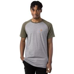 tentree Arrowsmith T-Shirt - Mens -Olive Night / Charcoal Gray