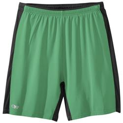 Outdoor Research Airfoil Shorts - Mens-Aloe / Black
