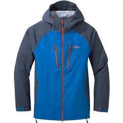 Outdoor Research Skyward II Jacket - Mens-Cobalt / Naval Blue