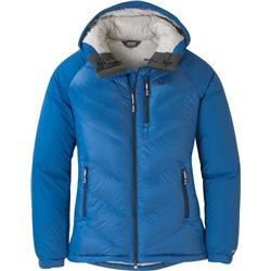 Outdoor Research Alpine Down Hooded Jacket - Womens-Lapis