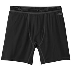 Outdoor Research Alpine Onset Boxer Briefs - Mens-Black