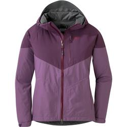 Outdoor Research Aspire Jacket - Womens-Amethyst / Pacific Plum