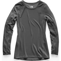 The North Face Presta Crew LS - Womens-TNF Dark Grey Heather
