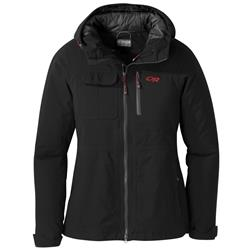 Outdoor Research Blackpowder II Jacket - Womens-Black