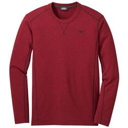 Outdoor Research Blackridge Crew II - Mens-Firebrick