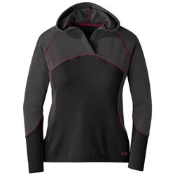 Outdoor Research Blackridge Hoody - Womens-Black / Storm
