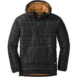 Outdoor Research Down Baja Pullover - Mens-Black / Honey