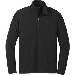 Outdoor Research Blackridge Qtr-Zip - Mens-Black
