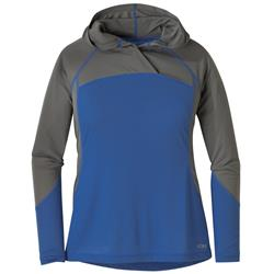 Outdoor Research Echo Hoody - Womens-Lapis / Pewter